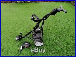 Powakaddy Sport Electric Golf Trolley (used) with lithium battery & charger