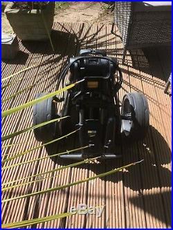 Powakaddy c2 electric golf trolley. With New XL Lithium 36 Hole Battery