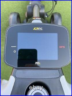 Powakaddy electric golf trolley FX7 GPS EXTENDED LITHIUM BATTERY