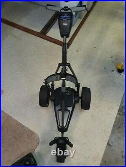 Powakaddy electric golf trolley fw7s EBS, 18 hole lithium battery
