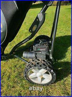Powakaddy electric golf trolley lithium battery