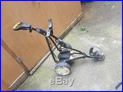 Powakaddy electric golf trolley lithium touch