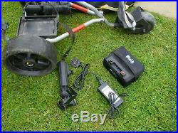 Powakaddy electric golf trolley with lithium battery