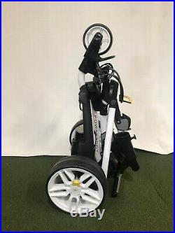 Powakaddy fw3 18 hole lithium battery trolley Brand New With Umbrella Holder