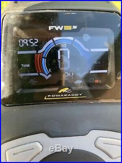 Powakaddy fw5s lithium golf trolley 24 Km On Clock