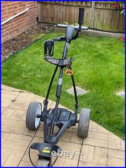 Powercaddy electric golf trolly FW3 with 36 hole lithium battery