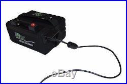 Powerhouse Golf Lithium golf trolley battery 12V 18-27 Hole LiFePO4 with USB