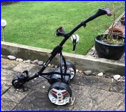 Powerkaddy S1 electric golf trolley With An 18 Hole Lightweight Lithium Battery