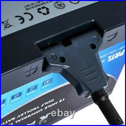 Poweroad 27-36 hole Lithium Golf Trolley Battery, Charger & Lead. Fits Powercaddy