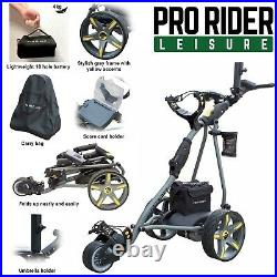 Pro Rider Electric Golf Trolley with Lithium Battery 18 Hole 150W Motor
