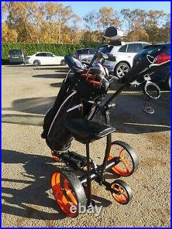 Remote control electric golf traverse trolley lithium battery WATCH VIDEO BELOW
