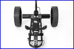 Smartcaddy Electric Remote Golf Trolley, 27/36 Hole Lithium Battery (black)
