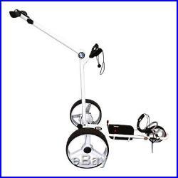 Smartcaddy Sc002 Electric Lithium 27 36 Hole Golf Trolley + Free Accessories