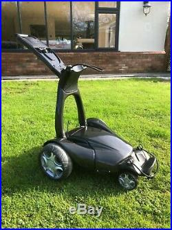 Stewart Golf X5 Remote Electric Trolley With Lithium Battery & Charger