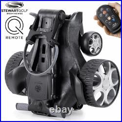 Stewart Q Remote 18 Hole Lithium Remote Control Golf Trolley / 8 Week Preorder