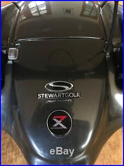 Stewart X7 Electric Golf Trolley With Lithium Battery & Charger
