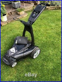 Stewart X7 Lithium Black Remote Control Electric Golf Trolley