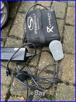 Stewart X7 Remote Control Golf Trolley Lithium battery