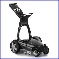 Stewart X9 Follow Electric Golf Push Cart Lithium Golf Trolley Black, New