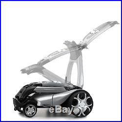 Stewart X9 Remote Controlled Electric Golf Trolley / White +free £165 Gift Pack
