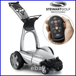 Stewart X9 Remote Electric Golf Trolley / Silver +free Cover / 4 Week Preorder