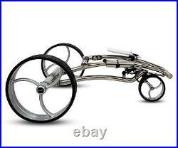 Tour Made Haicaddy HC7S Travel PRO Edelstahl Lithium Elektro Golftrolley