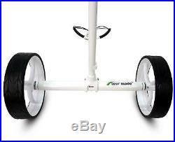 Tour Made RT-650S PRO Lithium Elektro Golftrolley Weiss Modell 2020