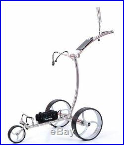 Tour Made RT-710LI Stainless Steel Lithium Battery Electric Golf Trolley
