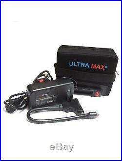 ULTRAMAX Golf Lithium golf trolley battery 12V 18-27 Hole LiFePO4 WITH CHARGER