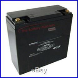 Ultramax 12v 27 Hole Golf Trolley Lithium Battery 20ah Replaces 24ah 26ah 28ah