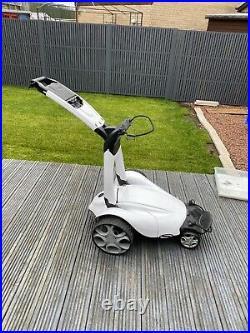 White Stewart Golf X7 Lithium Remote Controlled Trolley